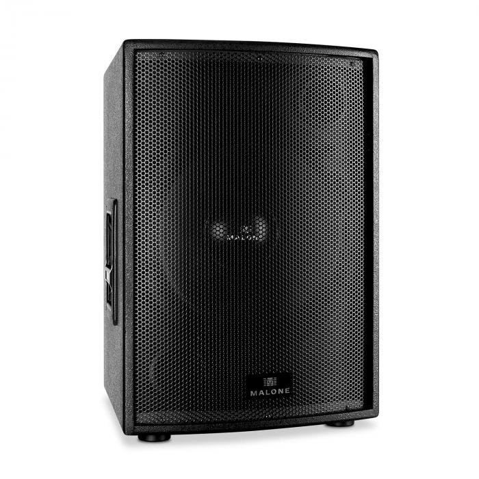 "Passiivinen PA-subwoofer 38cm (15"") Malone 1000W RMS -teho"