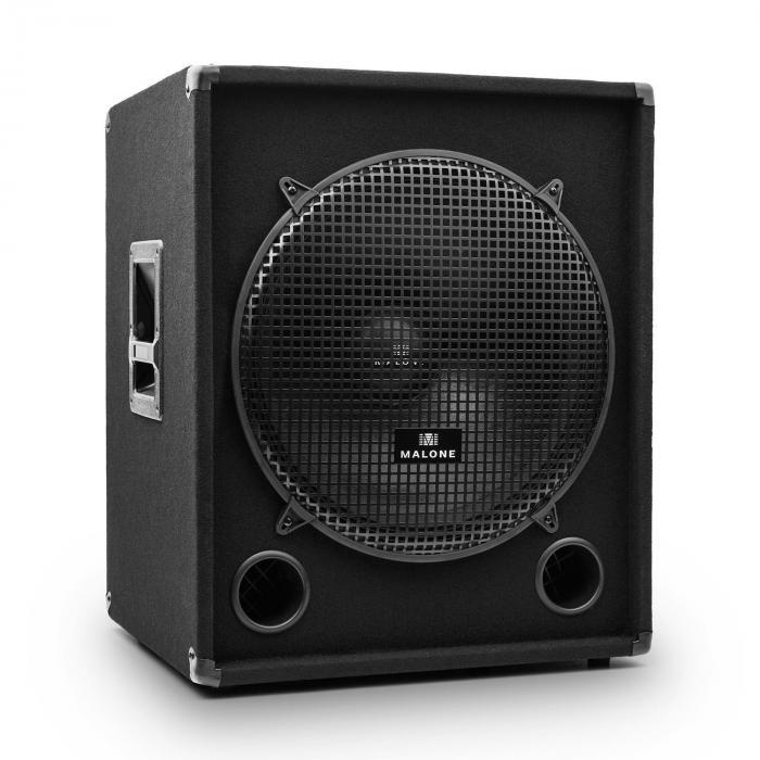 "Auna PW-1018-SUB 18"" DJ PA Subwoofer Speaker - 1200W"