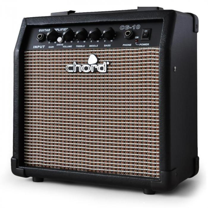 guitar chord cg 10 home practice guitar amplifier with eq. Black Bedroom Furniture Sets. Home Design Ideas