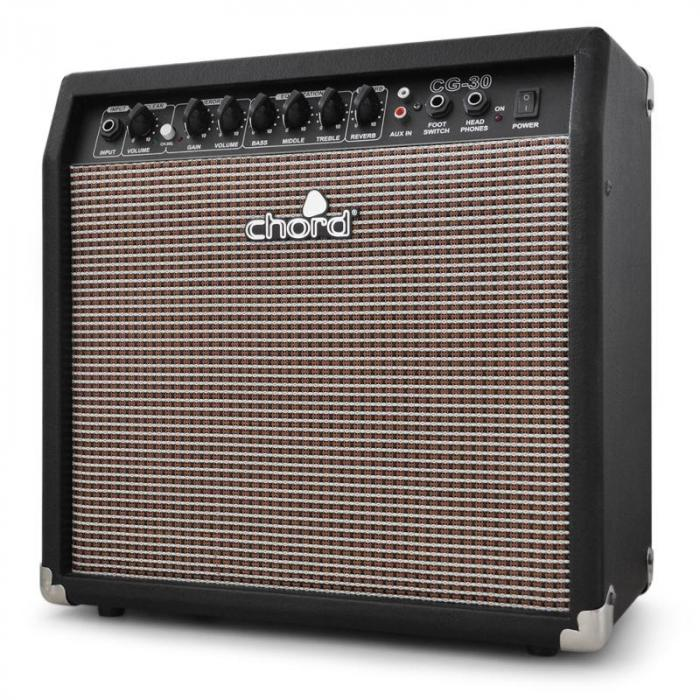 CG-30 Electric Guitar Amplifier Overdrive Reverb 30W