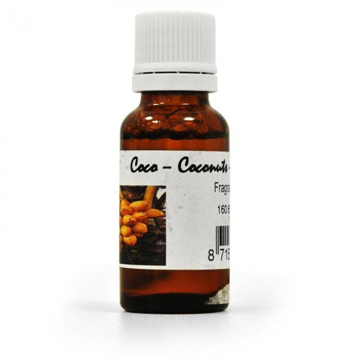 Tuoksu lisävaruste savukoneeseen 20 ml 5 litraan kookospähkinä
