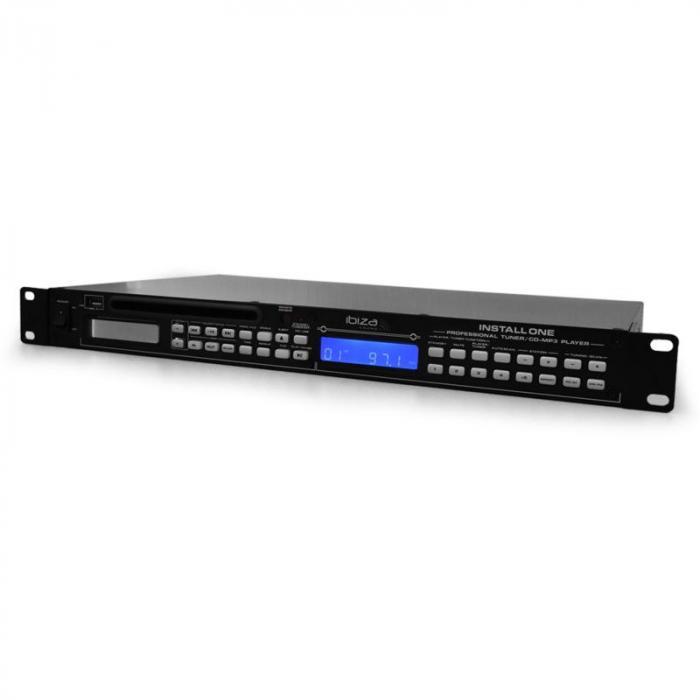 Kontroler Ibiza Install One odtwarzacz CD USB radio MP3