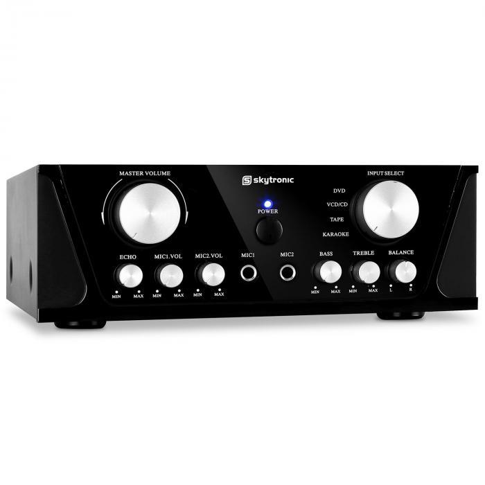 SKY-103 HiFi-Karaoke-Verstärker 100W RMS 2x Mik...
