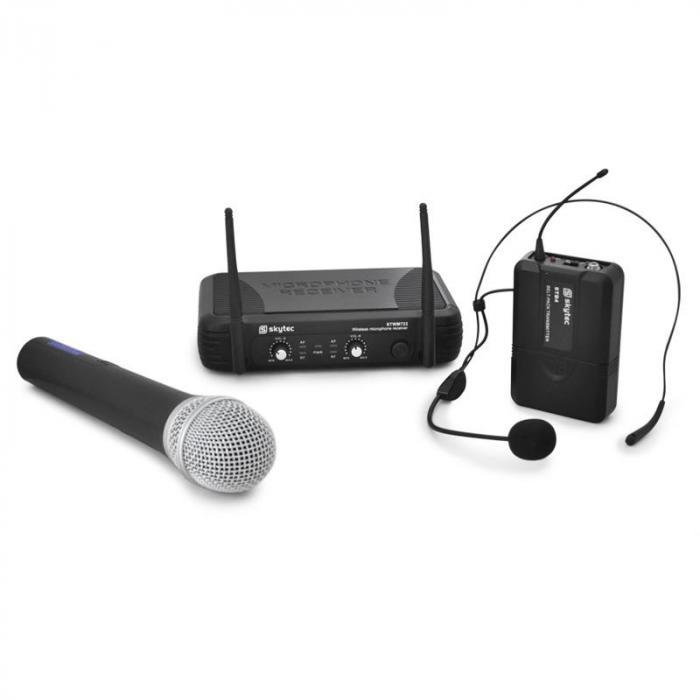 STWM722 Mikrofonijärjestelmä: käsimikrofoni & headset