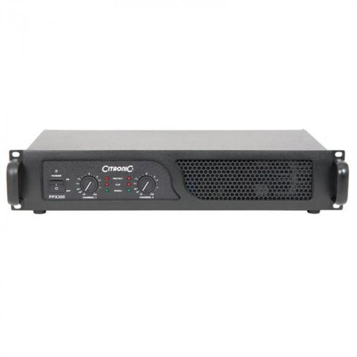 PPX-600 PA-Endstufe 600W RMS brückbar Limiter