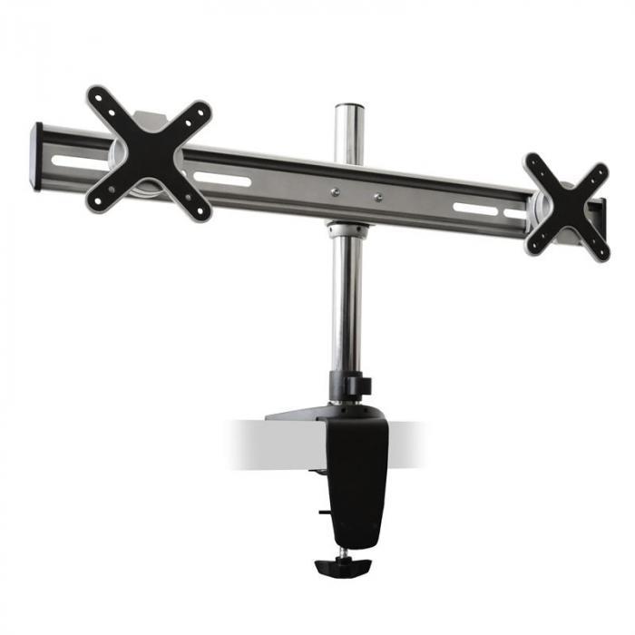 ET01-C02 Staffa da tavolo per 2 monitor <2x8kg
