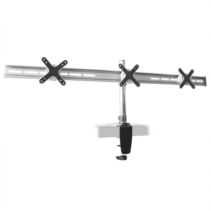 Uchwyt stołowy Auna ET01-C03 dla 3 monitorów <3x8 kg