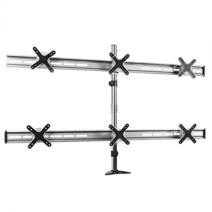 staffa da tavolo ET01-C06 per 6 schermi <6x8kg