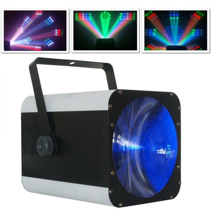 Revo 9 Burst Pro LED-valaisin, DMX, RGB