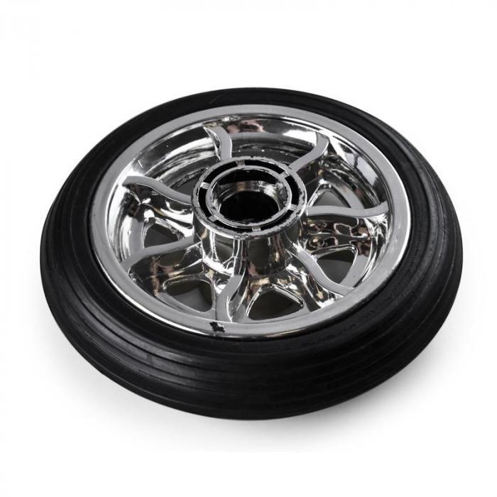 Ruota Anteriore Di Ricambio per Monopattino Modello V8 Nera