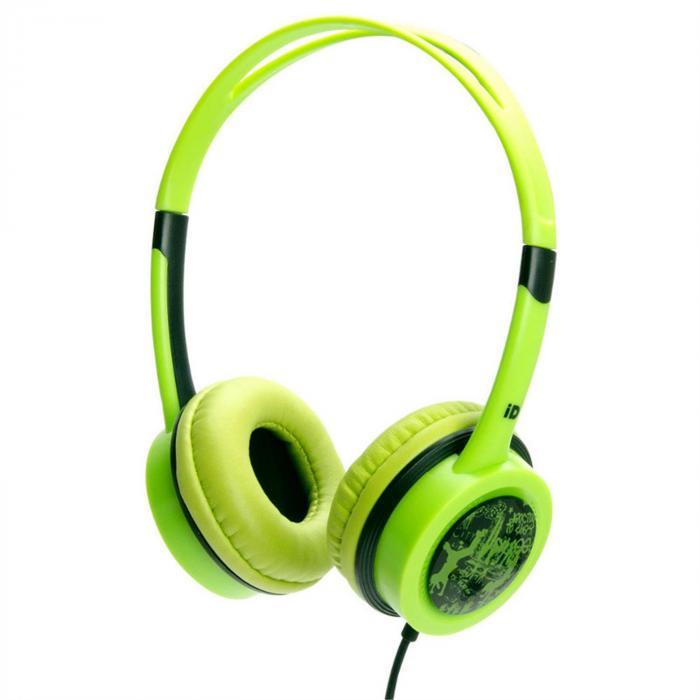 Free 10 hörlurar gröna headphones