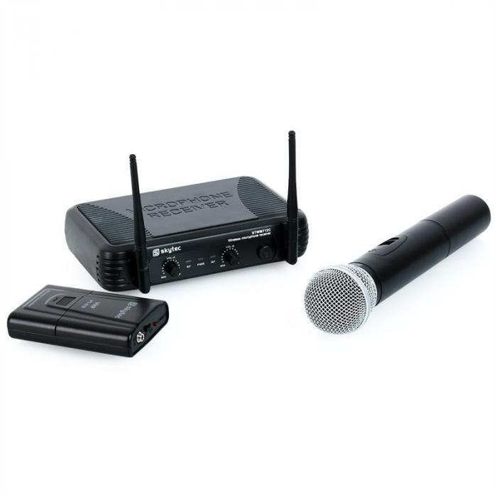 STWM712C VHF langat. mikrof.järj., 2 kan., kuulokkeet