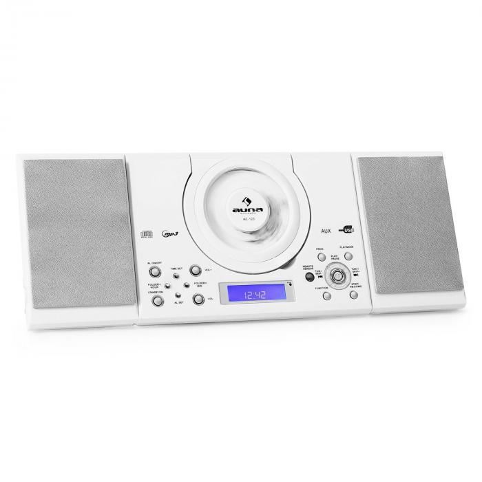 MC-120 Impianto stereo lettore CD MP3 USB Bianco