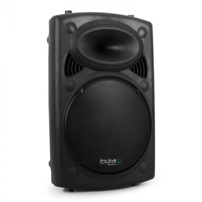 "SLK15-A aktive PA-Box 38cm (15"") 800W USB SD MP3"