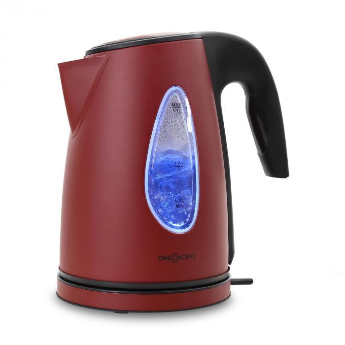 SS17 Bollitore 2200W 1,7l effetto luce rosso