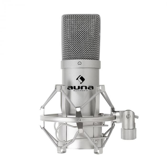 MIC-900S microfono a condensatore da studio USB argento