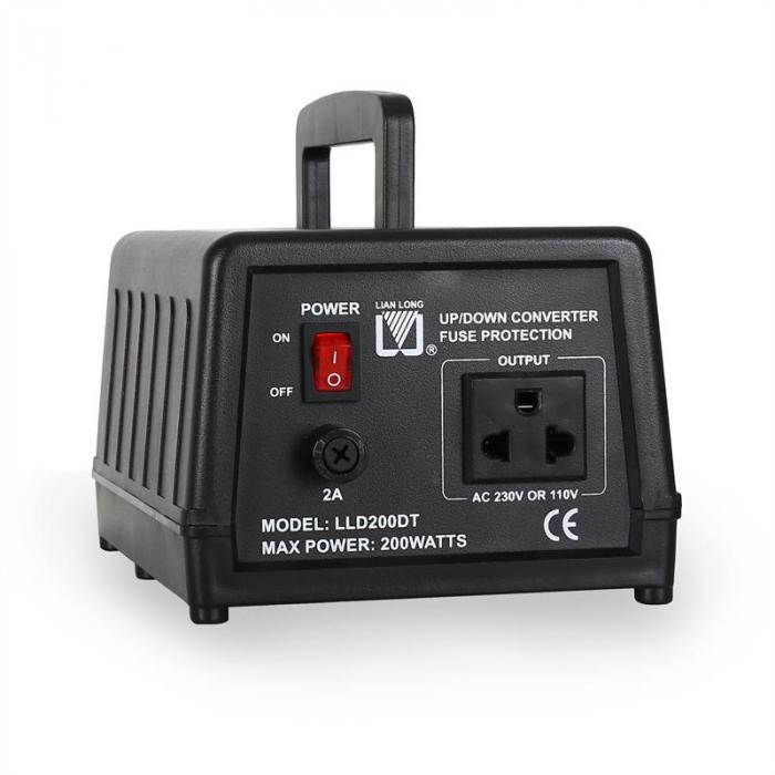 LLD200DT Up / Down Converter 200W 110/120V <-> 220/240V