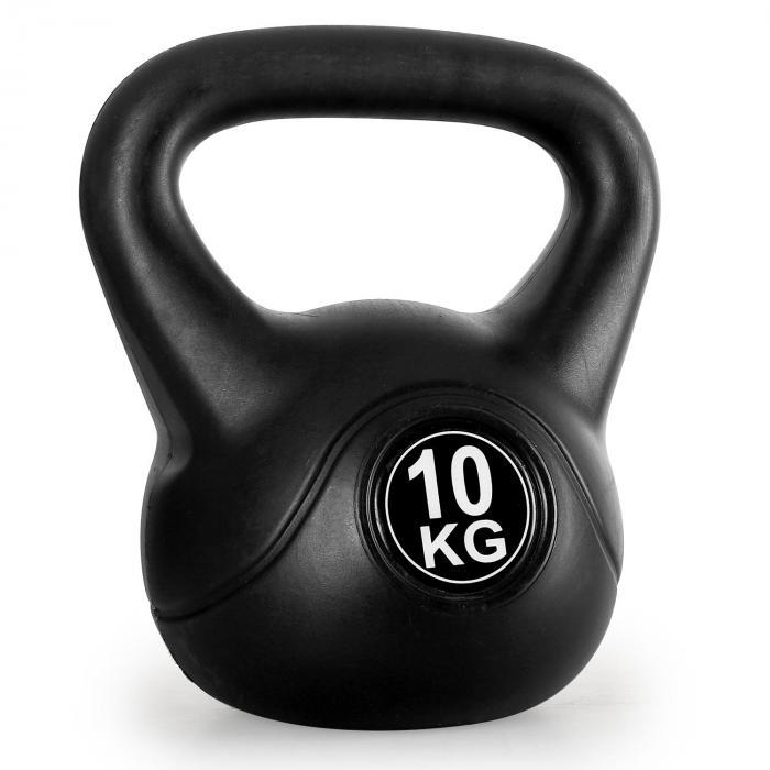 Kettlebell peso sfera con manico 10kg