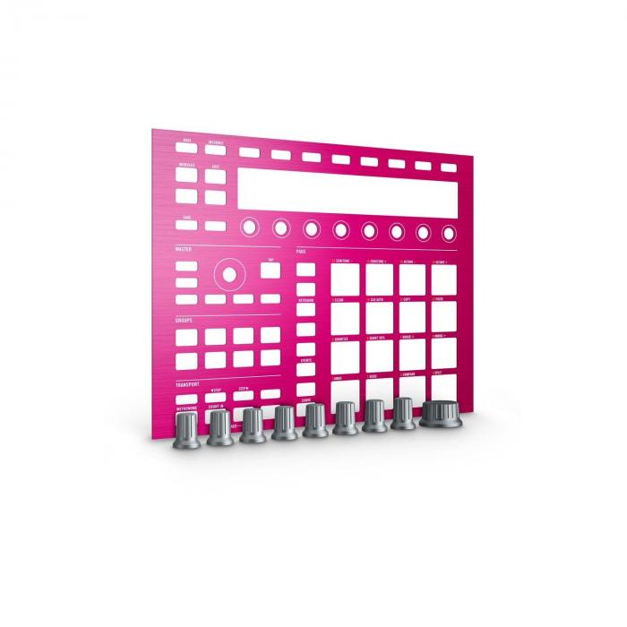 MASCHINE CUSTOM KIT Faceplates Pink