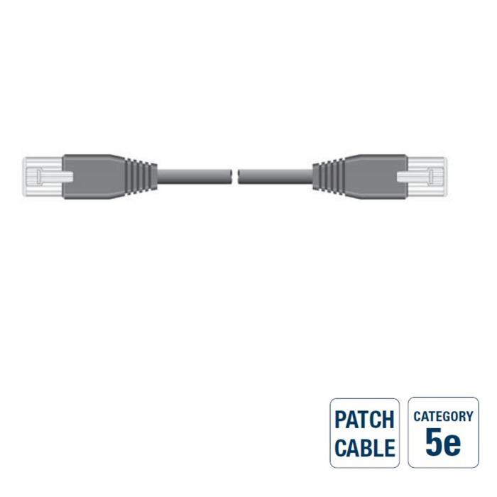 RJ45-8M/RJ45-8M Netzwerkkabel 5,0m