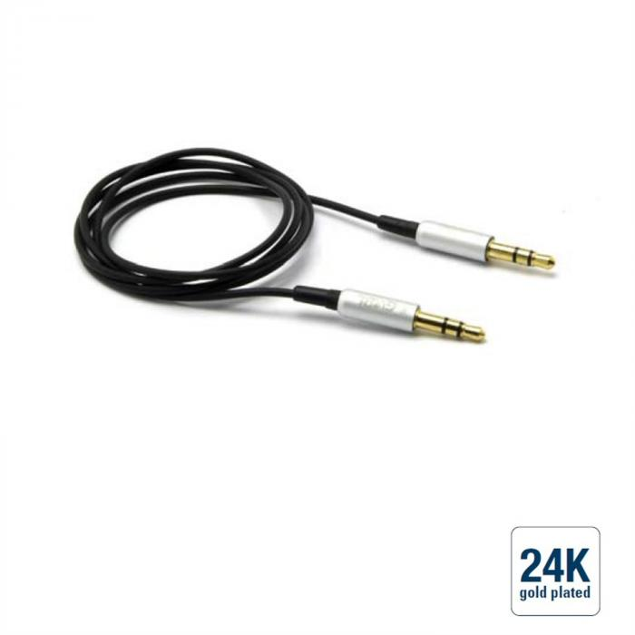 Audio Verbindungskabel Klinke 3,5/Klinke 3,5 /, grün, 1,8m