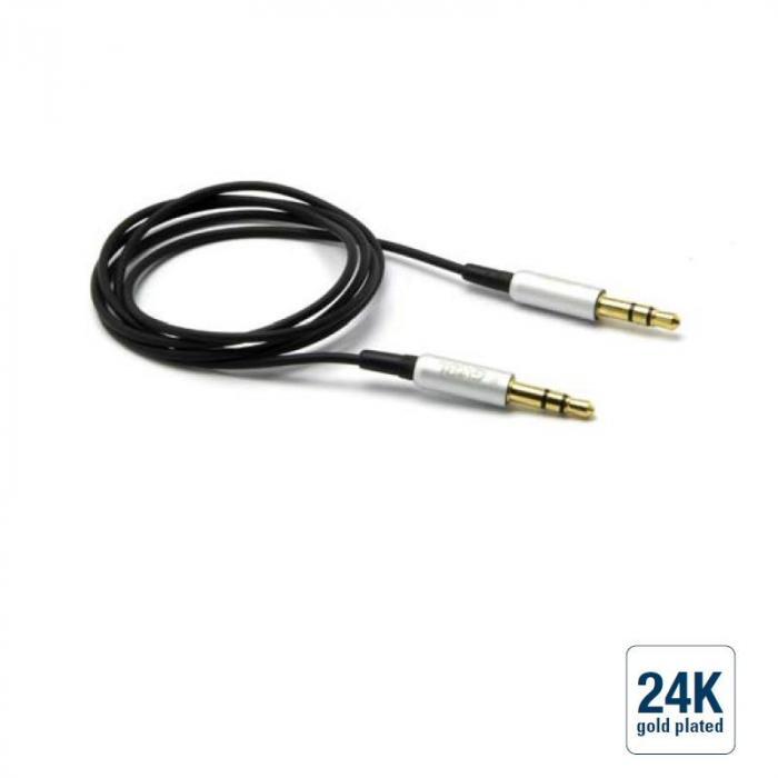 Audio Verbindungskabel Klinke 3,5/Klinke 3,5 /, blau, 1,8m