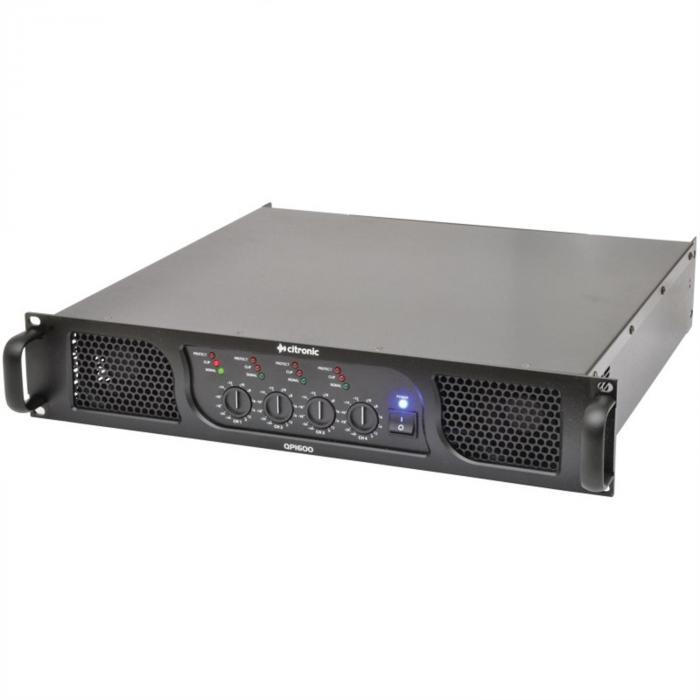 QP1600 PA-vahvistin 1600W