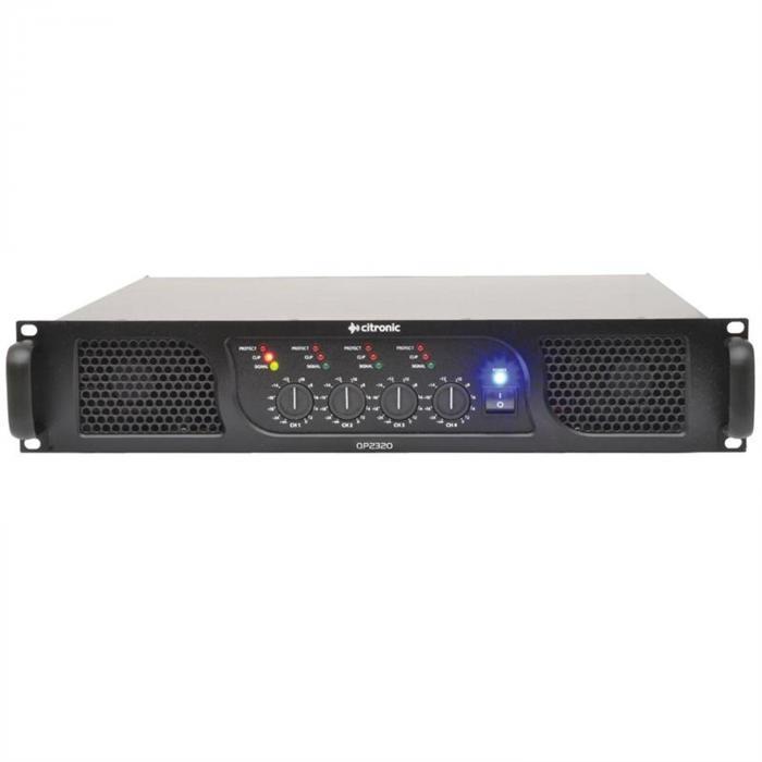 Citronic QP2320 Wzmacniacz mocy PA 2320W