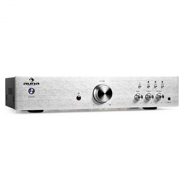 AV2-CD508 Amplificador hifi estéreo 600W color plata