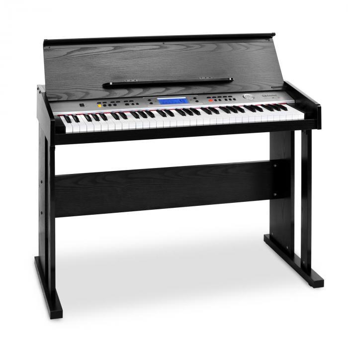 SCHUBERT Carnegy-61 pianino cyfrowe 61 klawiszy MIDI czarne