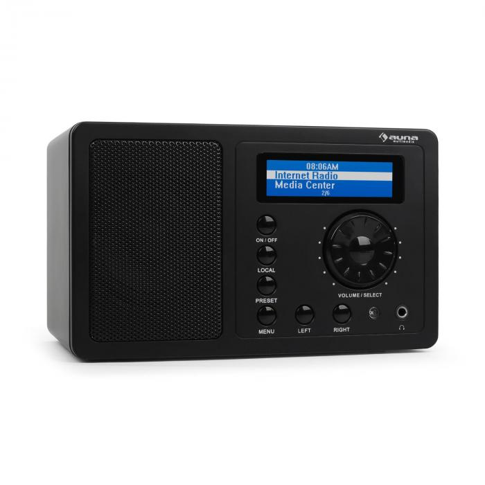 IR-130 - Radio internet pour streaming réseau sans fil WiFi 8000 stations