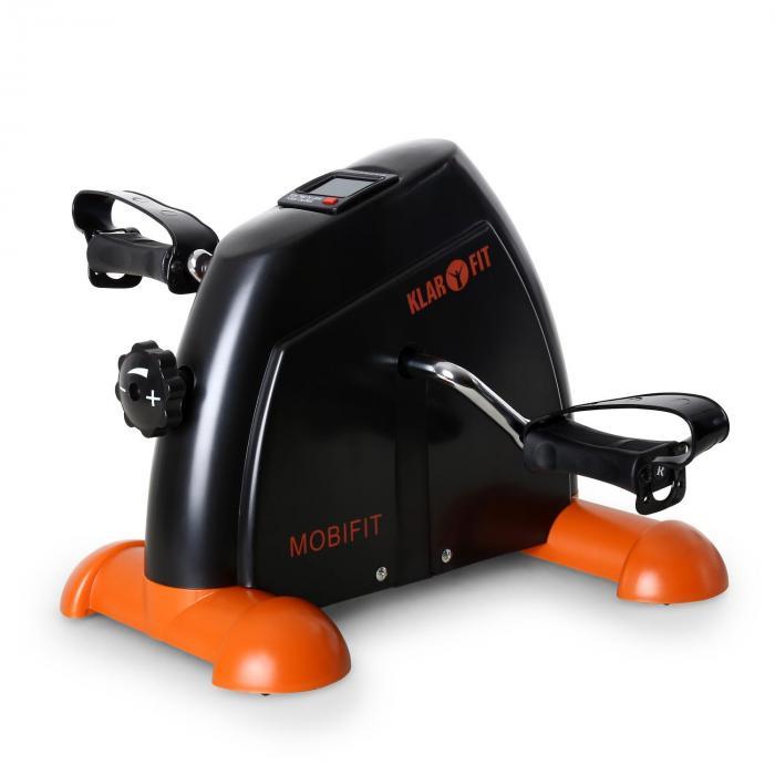 KLARFIT Mini rower treningowy 2G do 100 kg, pomarań./czarny