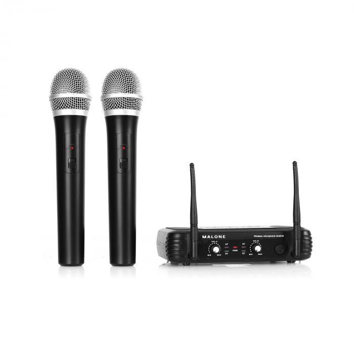 UHF-250 Duo1 Set radiomicrofoni UHF 2 canali