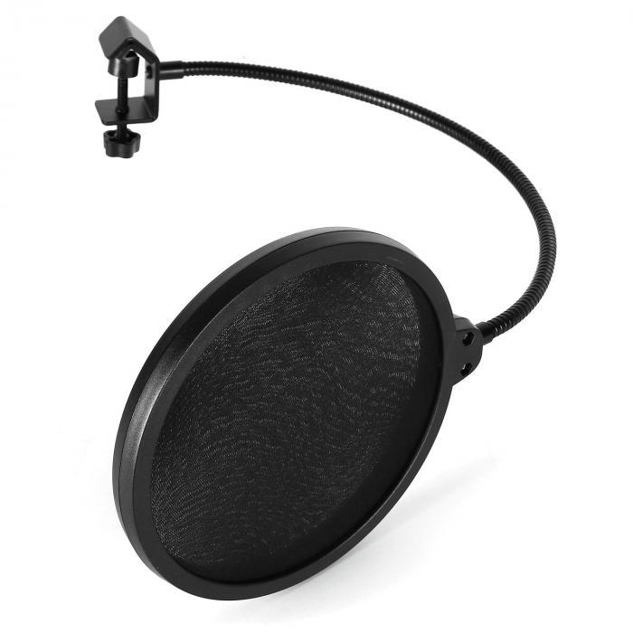 Malone POP-1 pop filtr do mikrofonu, ochrona przed wiatrem