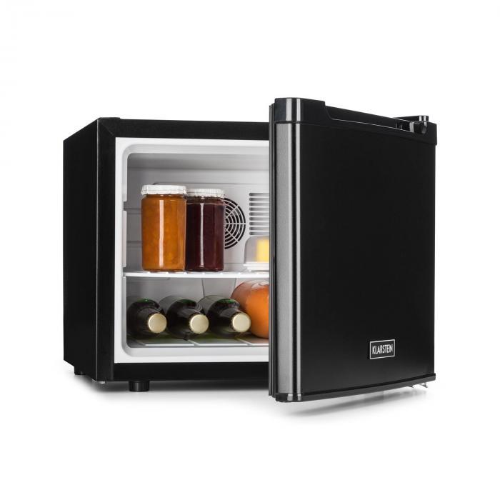 Manhattan Mini-Kühlschrank 35 Liter Klasse A schwarz Schwarz ...