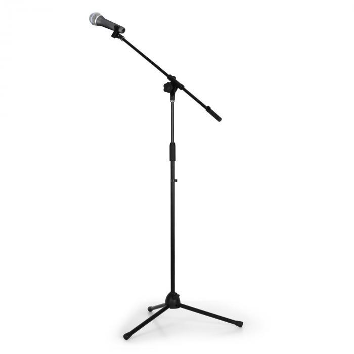 Auna Zestaw nagłośnieniowy & studyjny ze statywem mikrofonowym i mikrofonem dynamicznym