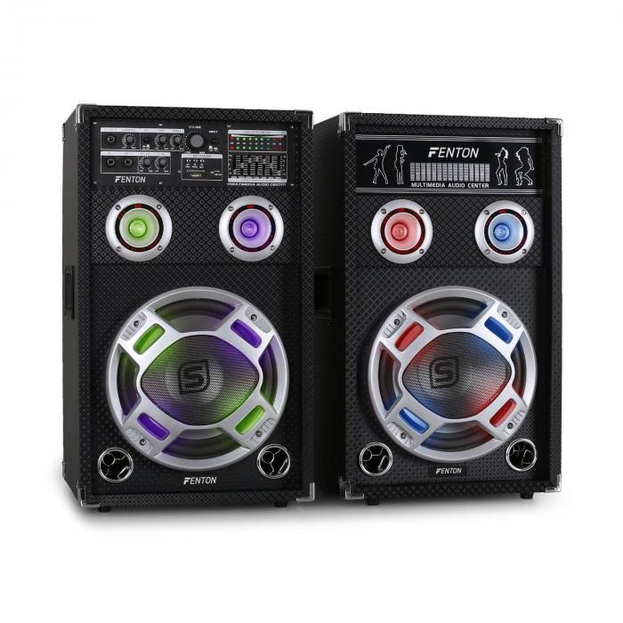 / Skytec KA-10 aktiivinen karaoke-PA-kaiutinsetti