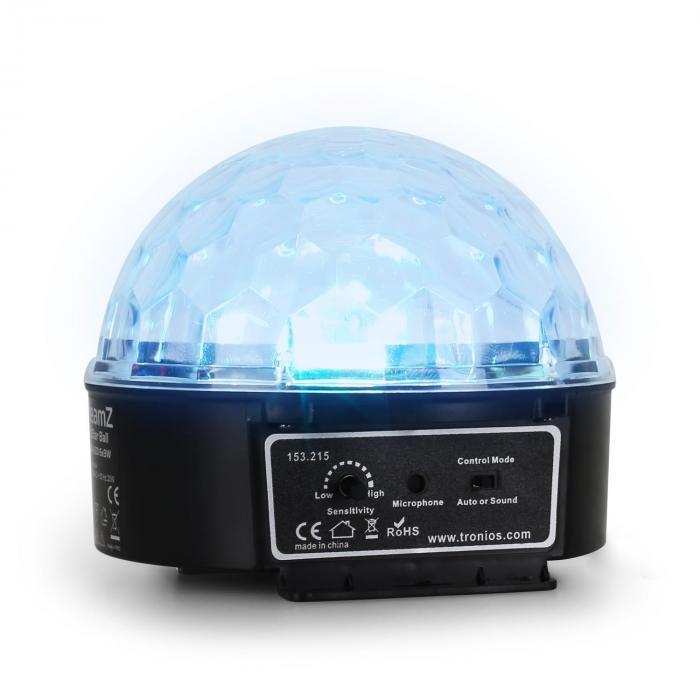 Mini Starball effetto luce LED controllo musicale