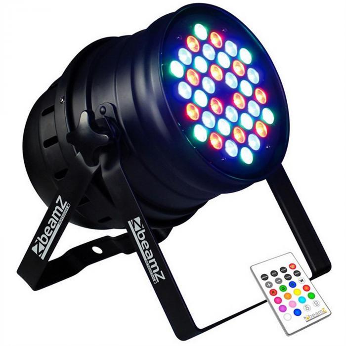 Projektor LED-PAR Beamz 36x 3W RGBW 120W