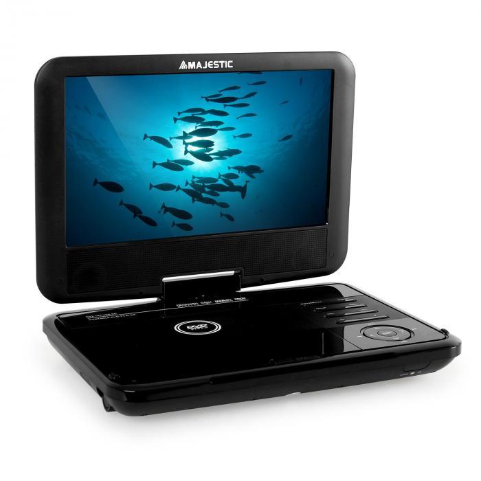 DVX 180 DVD-Player USB SD Nero