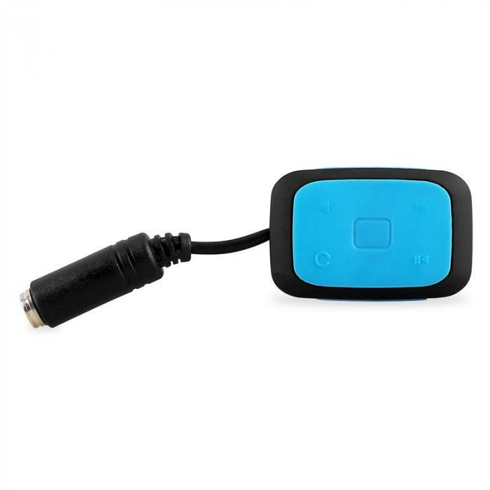 Sub 120 4G MP3-Player 4GB IPX8 Blau wasserdicht