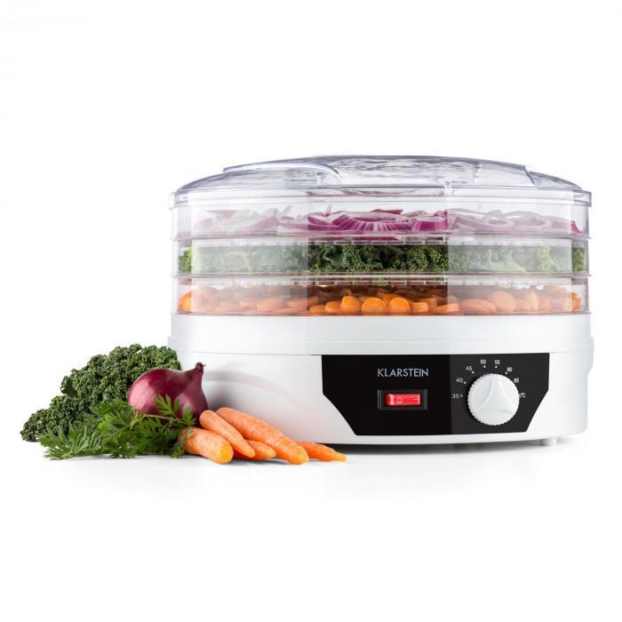 Sunfruit Dehydrator weiß Trockner 260W Thermostat