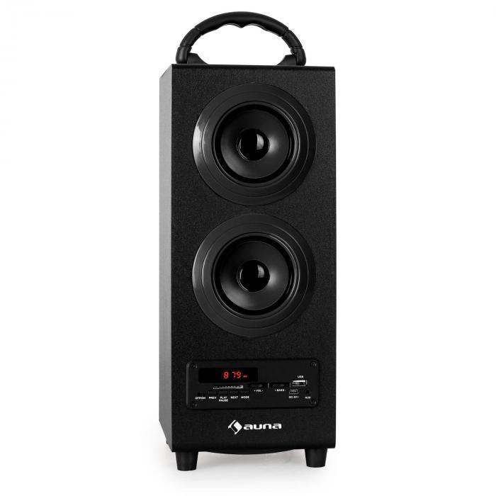 Beachboy BLuetooth-högtalare svart USB SD FM
