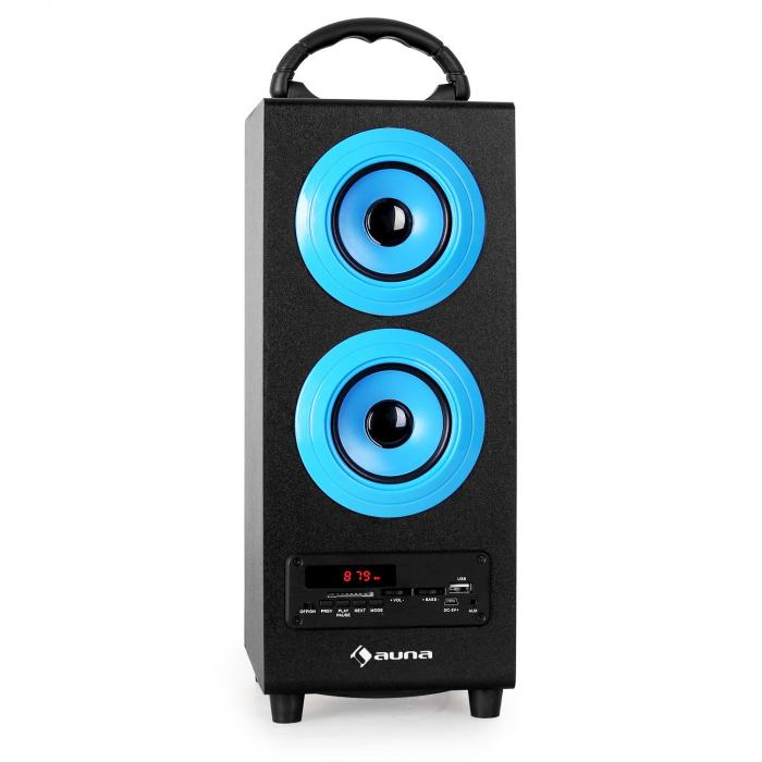 Beachboy altoparlante 2.1 bluetooth FM blu
