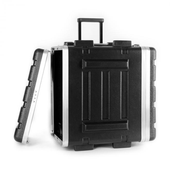 "ABS valigia trolley Flightcase 19"" 6U"