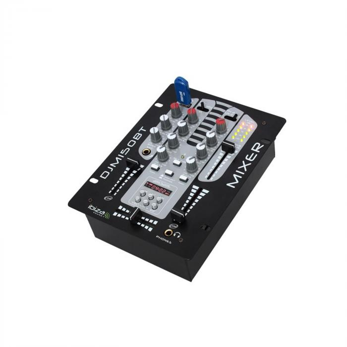 DJM150USB-BT mixer 5 canali USB Bluetooth MIC
