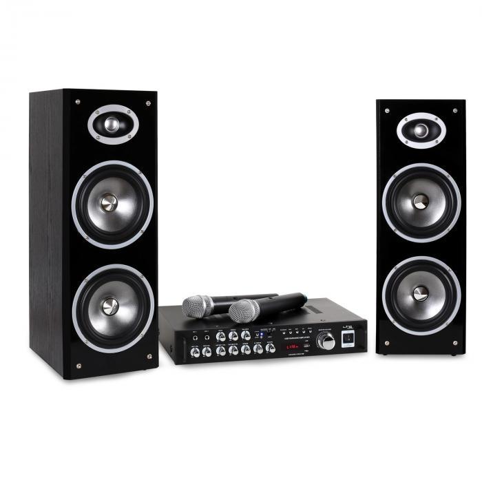 Karaoke-Star3-WM Karaoke-Anlage Set Bluetooth V...