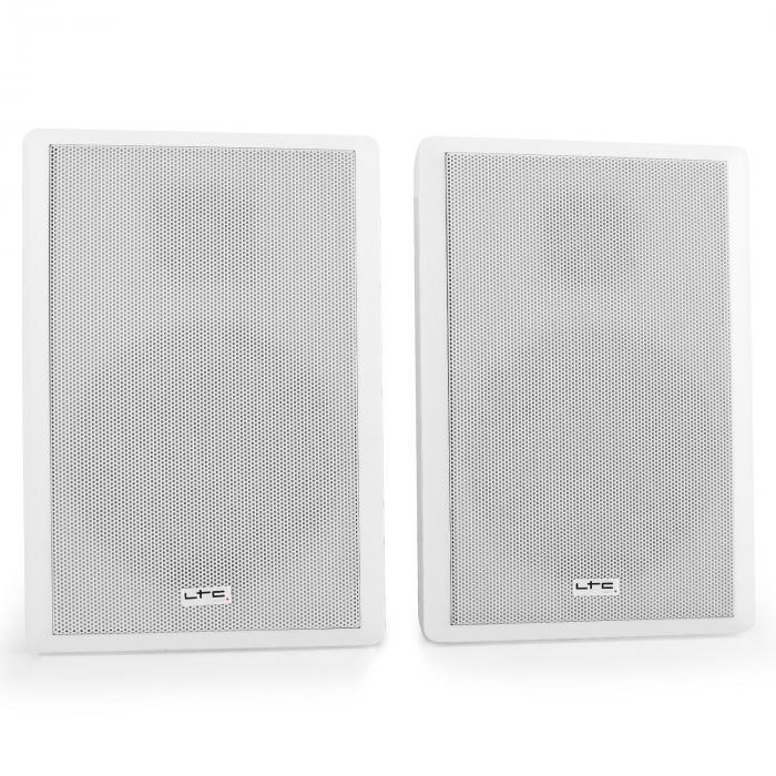 SSP501F-W extra-litteä 2-tie-seinäkaiutin-pari valkoinen
