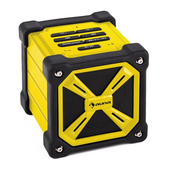 TRK-861 Enceinte Bluetooth mobile batterie -jaune