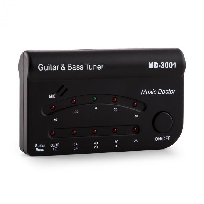Asis Tuner TR-10 Accordeur Guitare basse